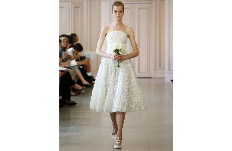 Short Frocks for Brides