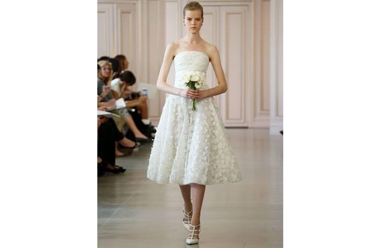 Short Frocks for Brides