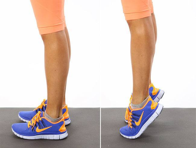 Calf Raises Exercise To Strengthen Your Legs