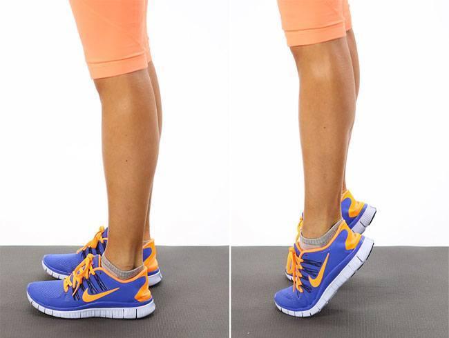 Calf Raises Exercise To Strengthen Your Legs