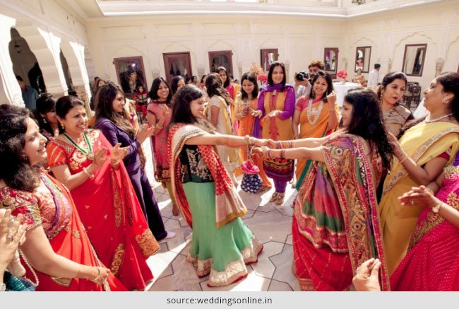 Colours to Wear For a Sangeet