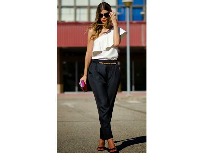 Trouser styles baggy pants