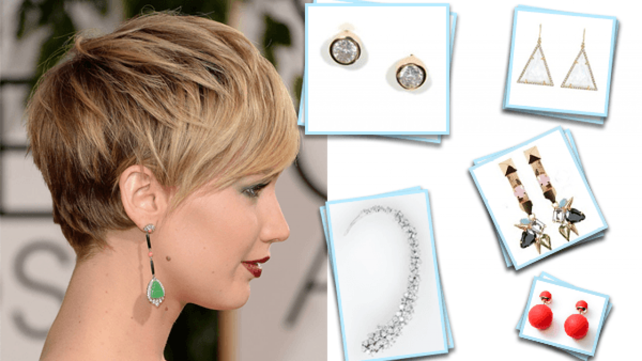 Earrings For Short Hair