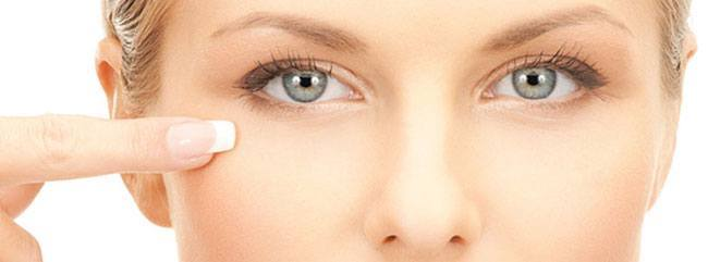 Eye Cream The Size of one pine nut or supari