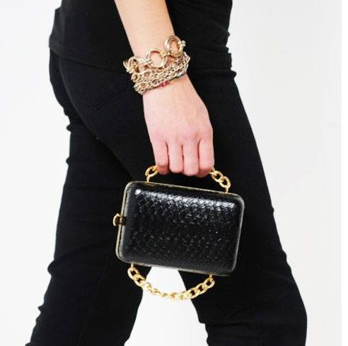 Fashion Accessories_Chain Strap Mini Bags