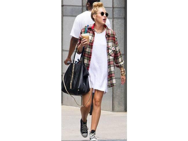 Flannel She Wore In Styles Galore lumberjacks