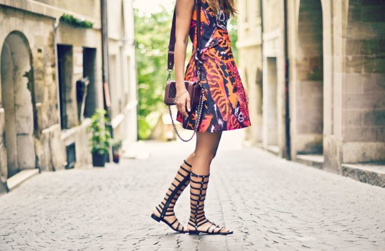 Gladiator Sandals For Summer Fashion