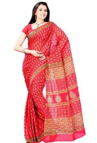 How do you wear a cotton saree