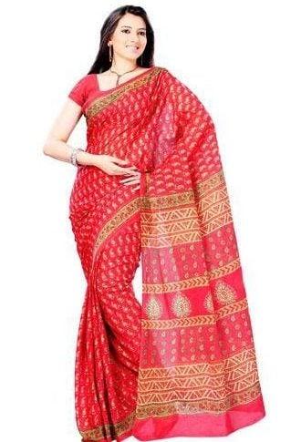How do you wear a cotton saree