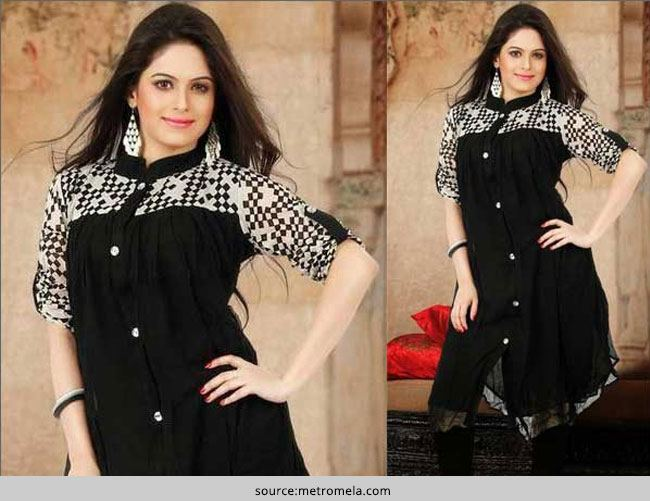 How to Style The Black Kurti