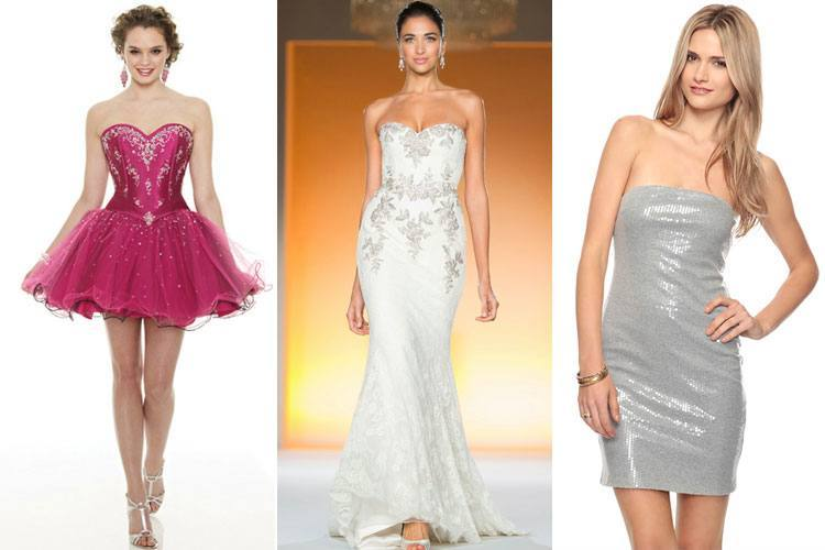 How to Wear a Strapless Dress
