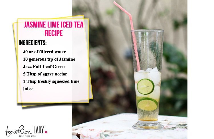 Jasmine Lime Iced Tea Recipe
