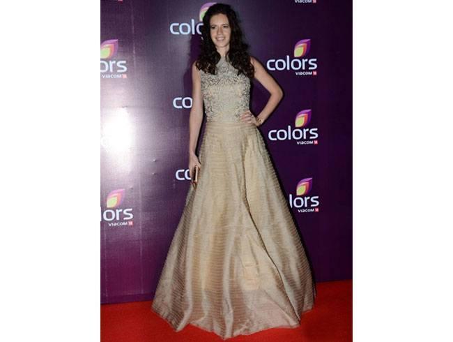 Kalki Koechlin At Colours TV Annual Party 2015