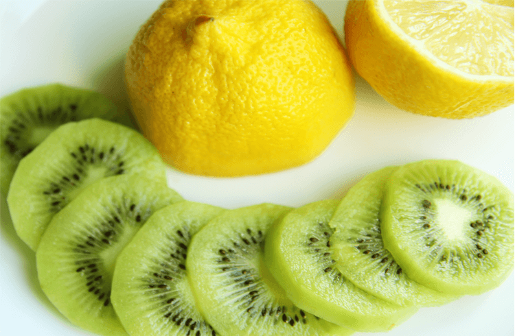 Kiwi and Lemon Face Pack