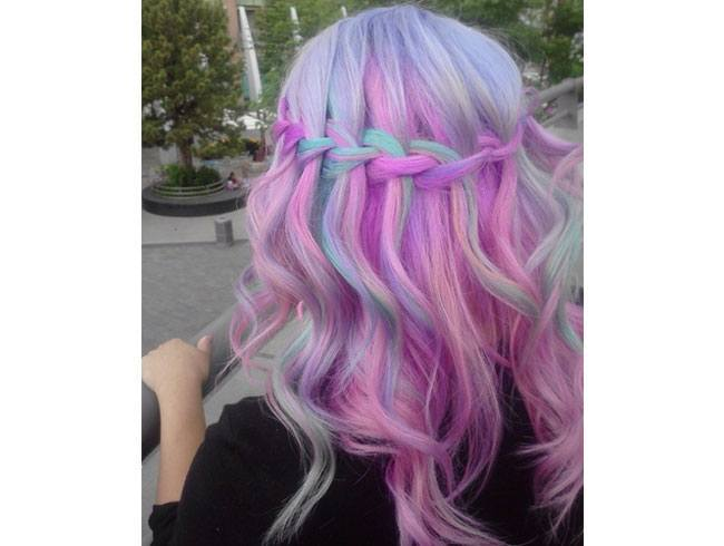 pastel hair colours for teens � show off your wild side