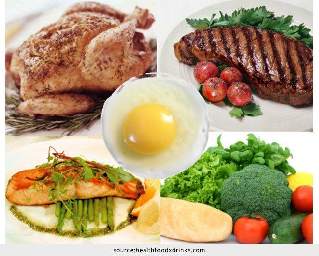 Lista de alimentos de calorías bajas con alto contenido de proteínas
