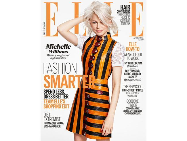 Michelle Williams on ELLE