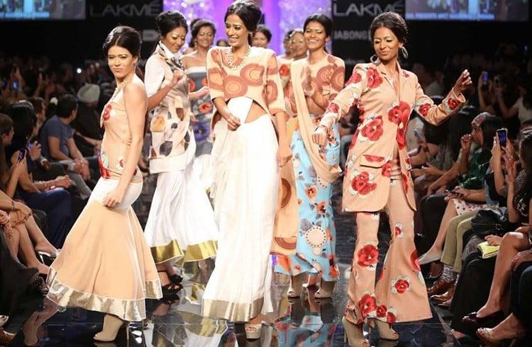 Models Walks the Ramp for Masaba Gupta