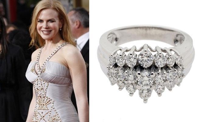 Nicole Kidman's engagement ring