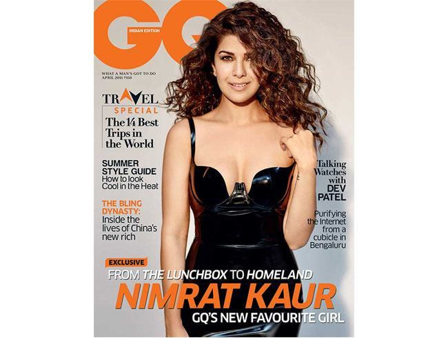 Nimrat Kaur on GQ