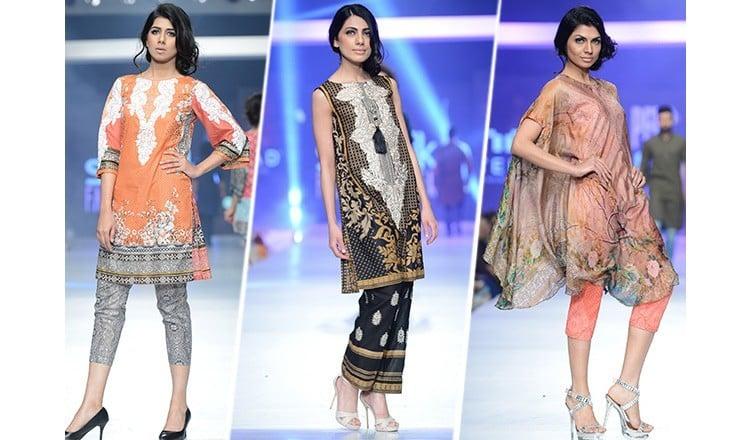 Premier textile brand, House of Ittehad at PFDC Sunsilk Fashion Week