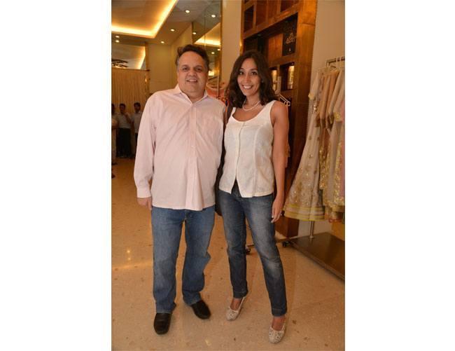 Sandeep Khosla with Namrata Zakaria