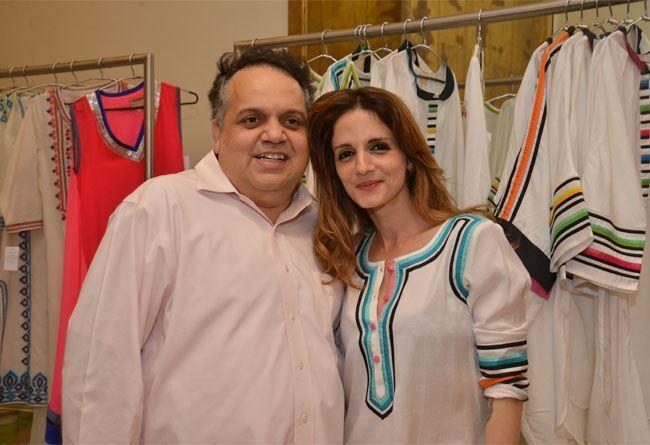 Sandeep Khosla with Suzanne Khan