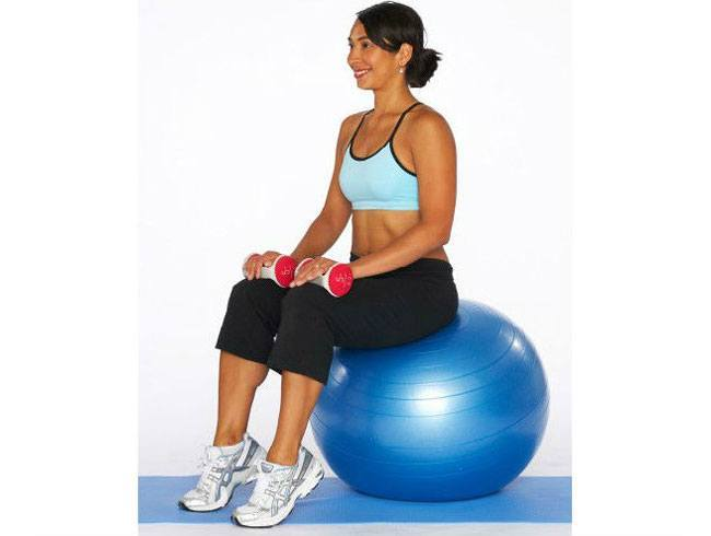 Seated Calf Raise with Dumbbells