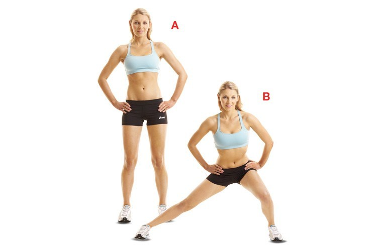 Side or Lateral Lunge
