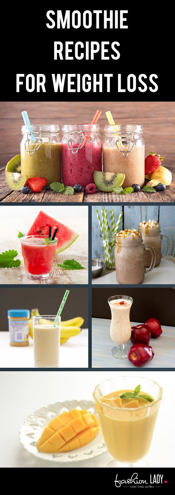 Smoothie Recipes for Weight Loss - They Lip-Smacking!