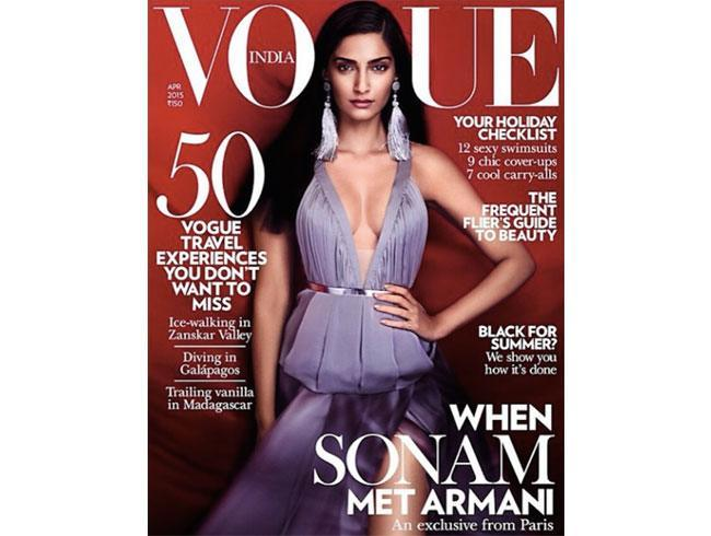 Sonam Kapoor on Vogue