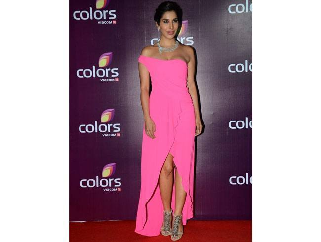 Sophie Choudry At Colours TV Annual Party 2015