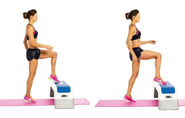Step Ups Exercises To Strengthen Your Legs