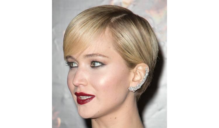 Stud earrings For a short haircut