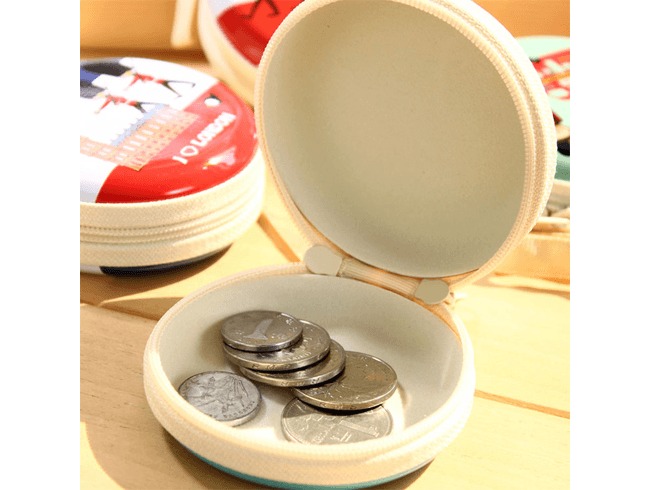 Tin Coin Purse