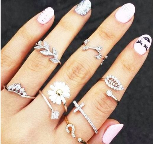 Trendy Fashion Accessories_Midi Rings