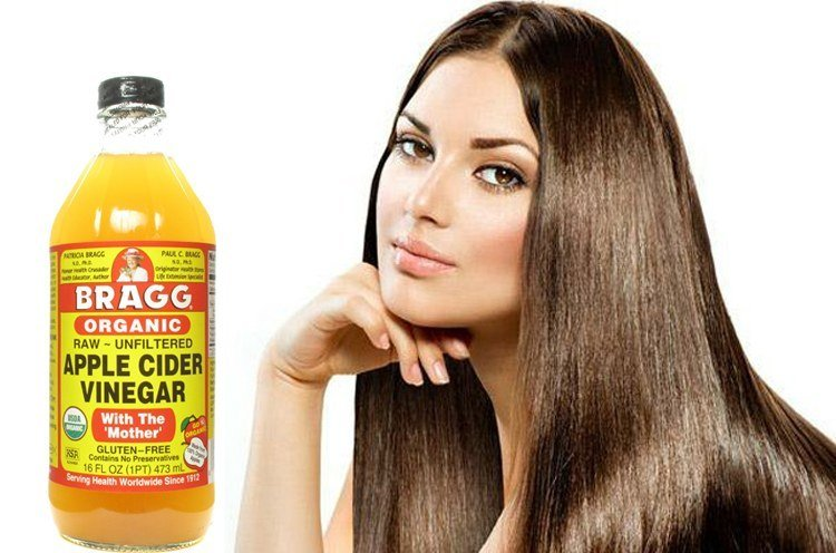 Vinegar for Shiny Hair