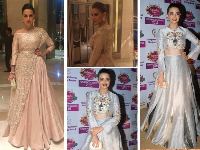 Who Wore Payal Singhal Better- Neha Dhupia or Surveen Chawla