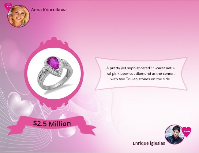 Anna Kournikova Engagement Ring