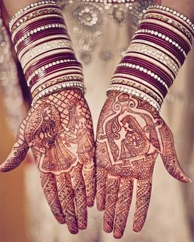 Mehndi Designs for Indian Brides