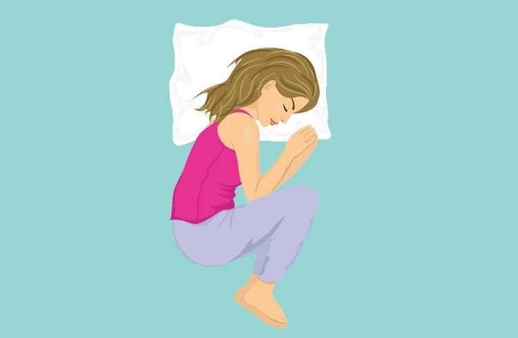 Sleeping in a Fetal Position