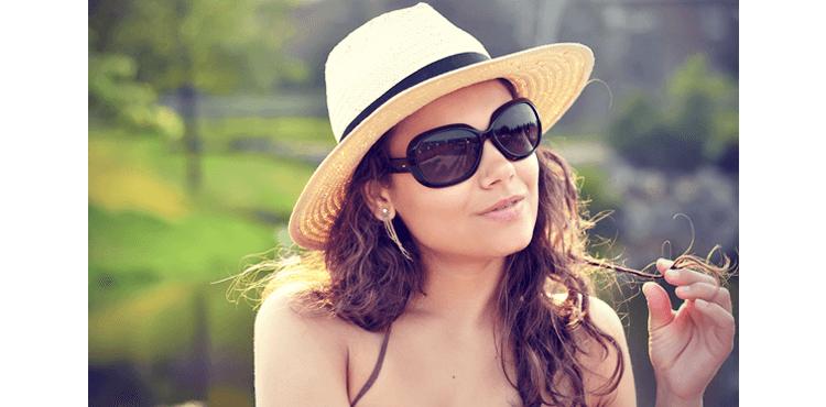 stylish sun hat for women