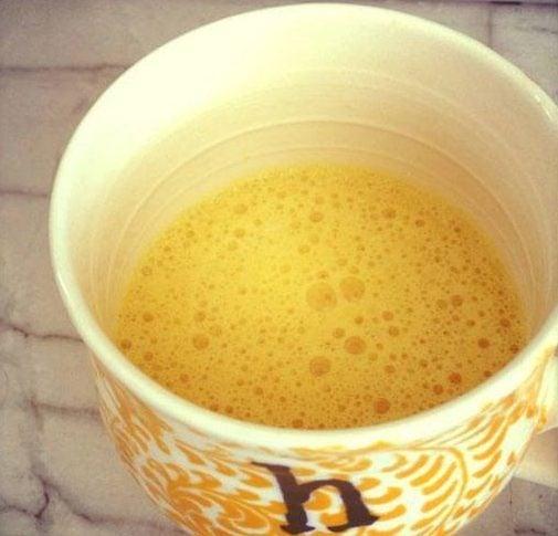 Польза для здоровья куркумы с молоком для вытрезвителя тела