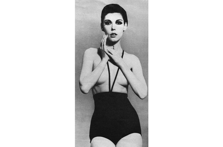 1960s Monokini Swim Suits