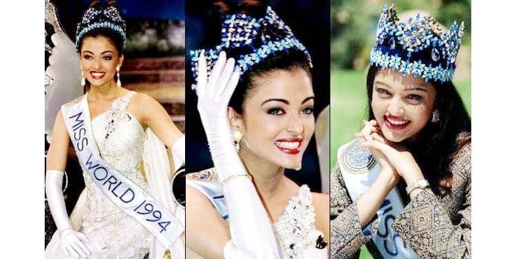 Aishwarya Rai Indian Miss World Miss World and Miss Universe Winners from India