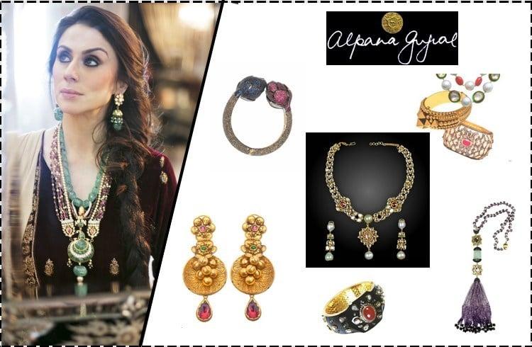 Alpana Jewellery Collection