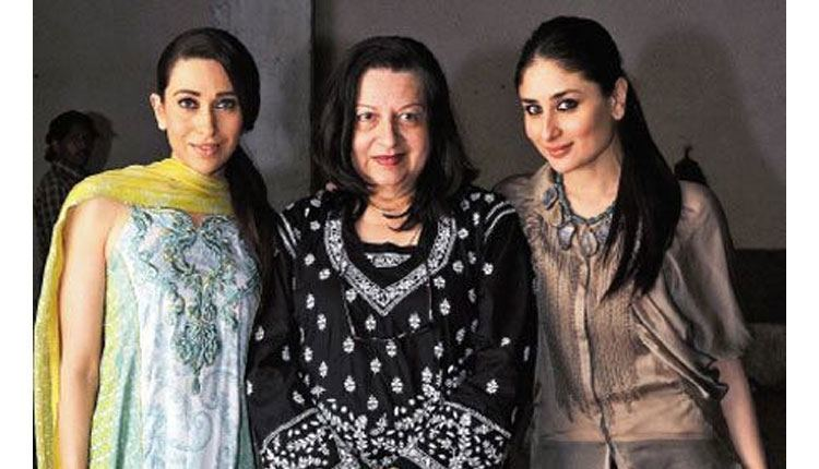 Babita,Karisma and Kareena Kapoor at mother's day