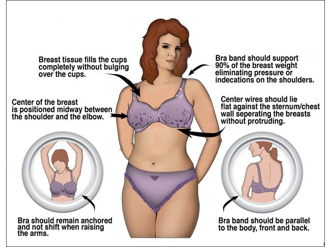 Bra Fitting tips