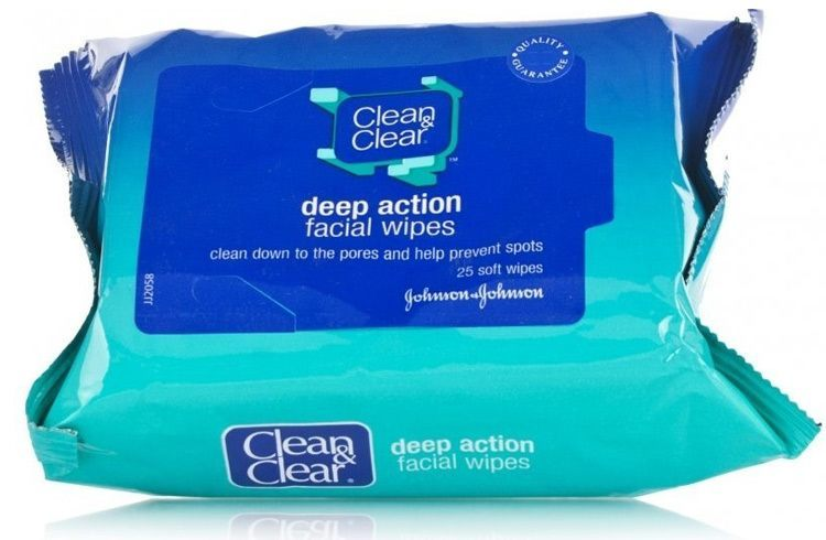 Clean and Clear Makeup Dissolving Facial Wipes