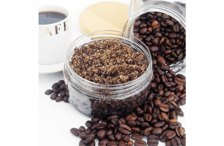 Coffee DIY Lips scrub